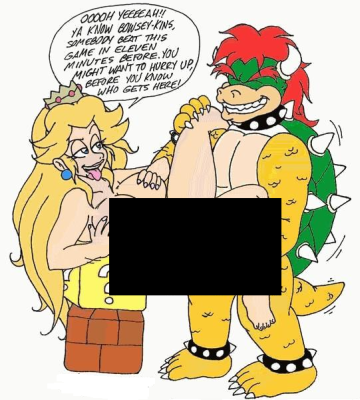 Funny & Weird Pictures PeachBowserHentai
