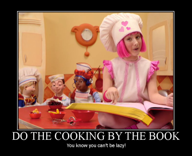 Bake A Cake Song Lyrics Lazy Town