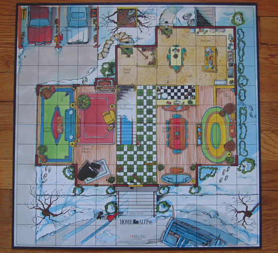 Board Game Traps The Home Alone Board Game Has